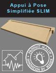 Appuis de fenêtre à pose simplifiée SLIM