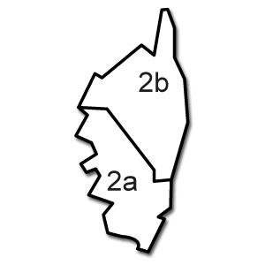 Distributeurs Weser départements 20 - 2A - 2B