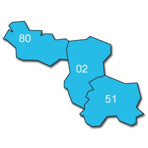 départements 07 - 11 - 12 - 26 - 30 - 34 - 48 - 66 - 81