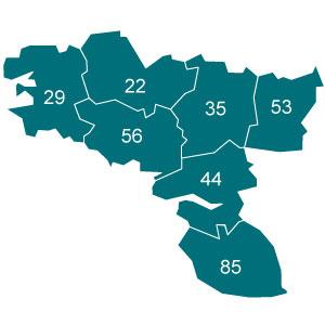départements 14 - 27 - 50 - 61